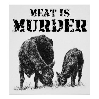 Meat Is Murder Posters