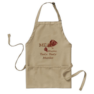 Meat Is Murder Standard Apron