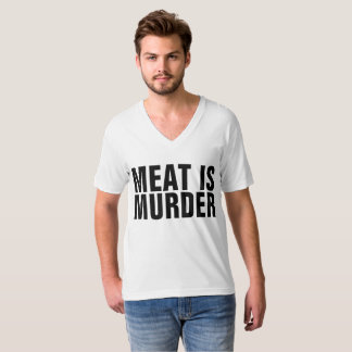 MEAT IS MURDER t-shirts