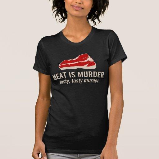 Meat is Murder, Tasty Murder Tshirts
