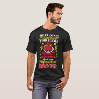 Meat Lovin Spice Rubbin Slow Cookin Bbqer Barbecue T-Shirt