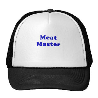 Meat Master Mesh Hats