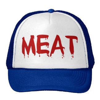 Meat Meaty I Love Meat Chicken Beef Goat Cow Blood Cap