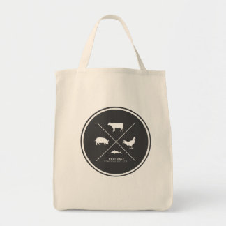 Meat Only Grocery Tote