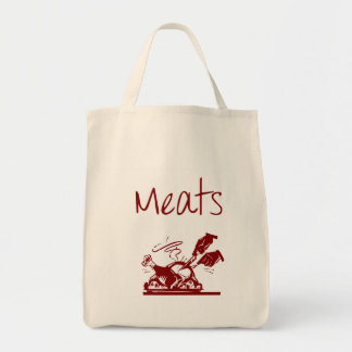 Meat Reusable Grocery Bag