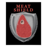 Meat Shield Posters
