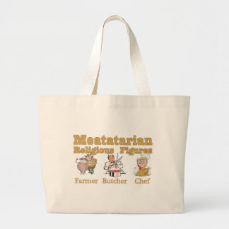 Meatatarian Religious Figures Bag