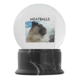 MEATBALLS Custom Snowglobe