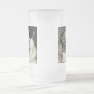 MEATBALLS Frosted 16 oz Frosted Glass Mug