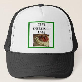 MEATBALLS TRUCKER HAT