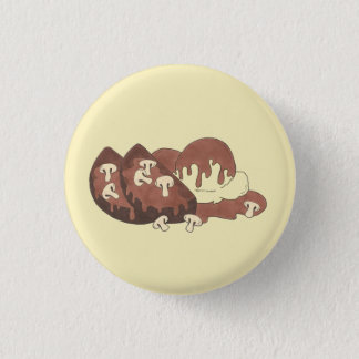 Meatloaf Meat Loaf Potatoes Mushroom Gravy Foodie 3 Cm Round Badge
