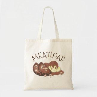 Meatloaf Meat Loaf Potatoes Mushroom Gravy Foodie Tote Bag