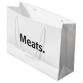 Meats.™ Large Gift Bag