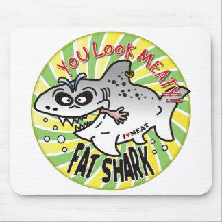 Meaty Fat Shark Mousepad
