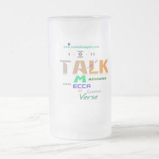 mecca - glass frosted glass mug