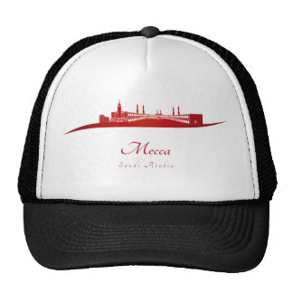 Mecca skyline in network cap