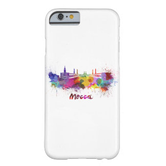 Mecca skyline in watercolor barely there iPhone 6 case