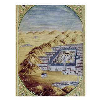 Mecca surrounded by the Mountains of Arafa Postcard