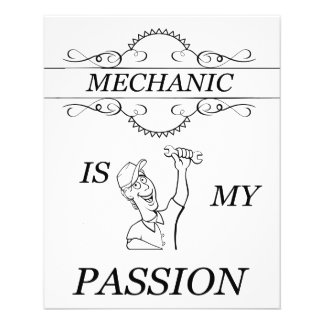Mechanic 11.5 Cm X 14 Cm Flyer