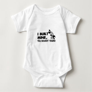 Mechanic, built mine baby bodysuit