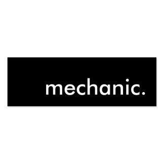 mechanic. business card template