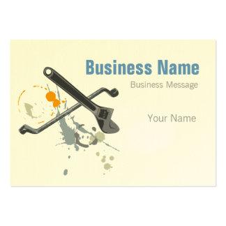 Mechanic Business Card Template