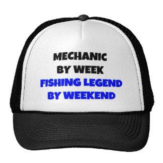 Mechanic by Week Fishing Legend By Weekend Cap