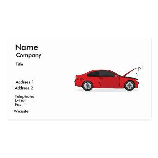 Mechanic card business card templates