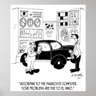 Mechanic Cartoon 6768 Poster