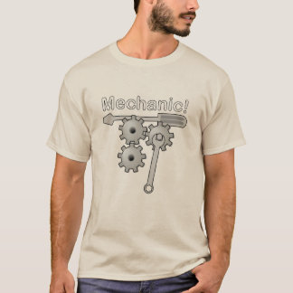 Mechanic Gears and Tools T-Shirt