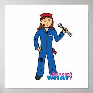 Mechanic Girl Poster
