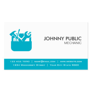 Mechanic - Professional Cards - Any Color Pack Of Standard Business Cards