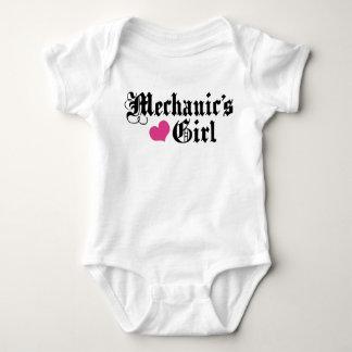 Mechanic's Girl Baby Bodysuit