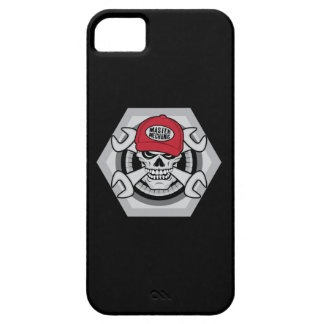 Mechanic Skull-01 iPhone 5 Case
