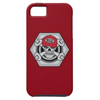 Mechanic Skull-01 iPhone 5 Case