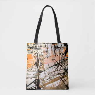 Mechanical Art Tote Bag