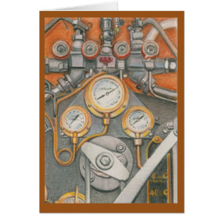 Mechanical Challenge by Melissa A Benson Card