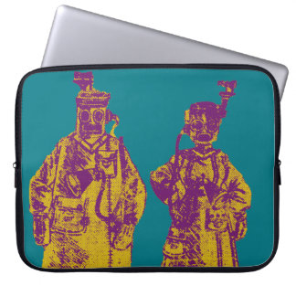 Mechanical Couple Laptop Sleeve