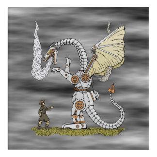 Mechanical Dragon Acrylic Print