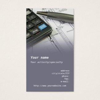 """Mechanical Engineer"" business card"