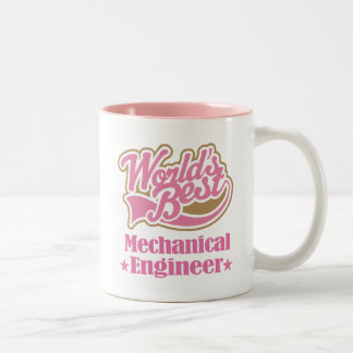 Mechanical Engineer Gift Idea Two-Tone Coffee Mug