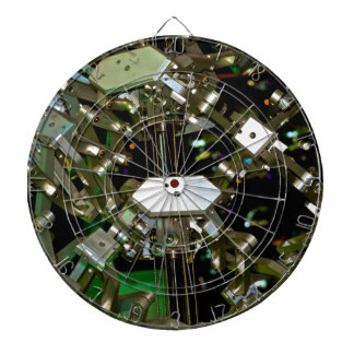 Mechanical Flex Abstraction Dartboard With Darts