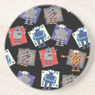 Mechanical Robot Cartoon Coaster