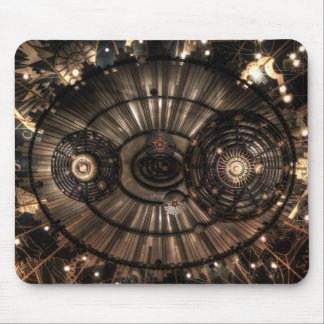Mechanical Steampunk Zodiac Constellations Mouse Pad