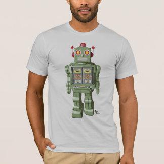 Mechanical Toy Robot Shirt Silver