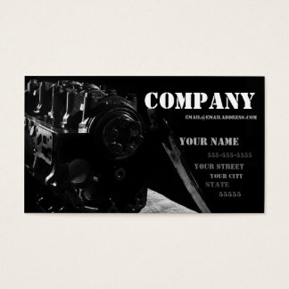 Mechanic's Business Card