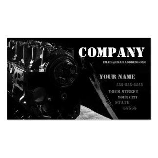 Mechanic's Business Card