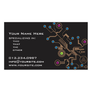Mechanics Business Cards