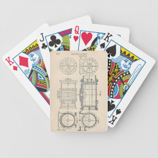 Mechanic's Pocletbook Bicycle Playing Cards