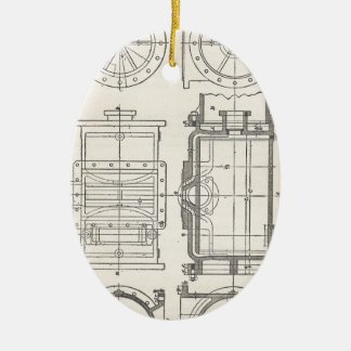 Mechanic's Pocletbook Ceramic Ornament